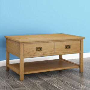 Image Is Loading Oak Coffee Table Light Lounge Solid