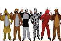 Adult Zoo Jungle Farm Animal Fancy Dress Costume