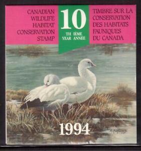 CANADA-1994-CANADIAN-WILDLIFE-HABITAT-CONSERVATION-BOOKLET-A85