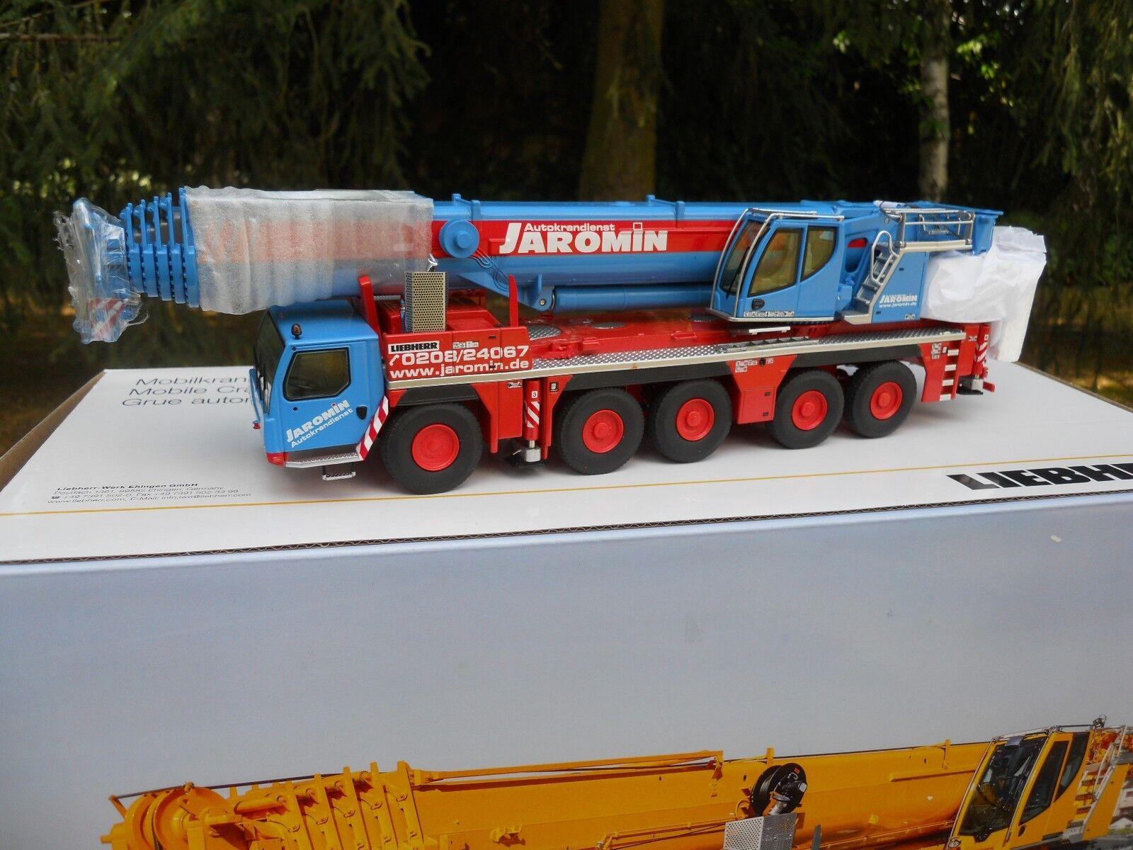 NZG 959 05 LIEBHERR LTM 1250-5.1   JAROMIN   MINIATURA NUEVA EN CAJA