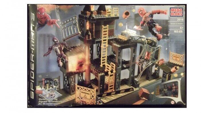 Mega Bloks 2016 Spiderman 3 Streets of Venom New & Sealed Rare Collectable