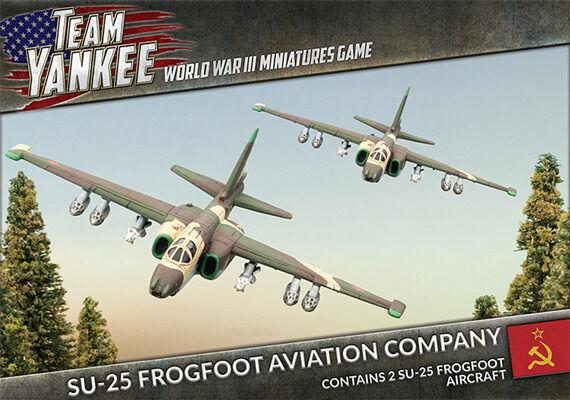 Team Yankee BNIB SU-25 Frogfoot (x2) TSBX09