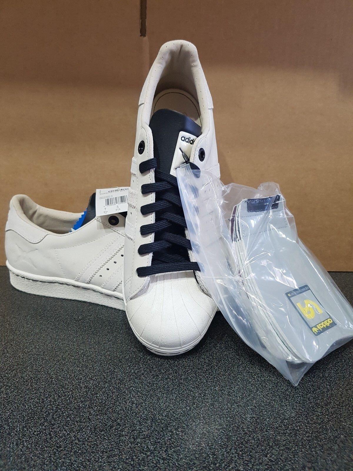 Adidas Superstar années 80 Consortium 3 Way COLLAB VA VA VA ACU CROOKED TONGUES D-Mop UK9 1c500b