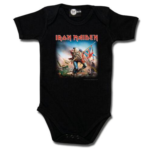 Iron Maiden Trooper Baby Body von Metal-Kids