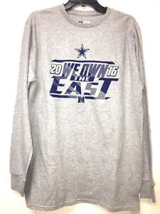 3d100deb5 NWT Dallas Cowboys NFL Long SleeveT-SHIRT Men s Gray Team Fan ...