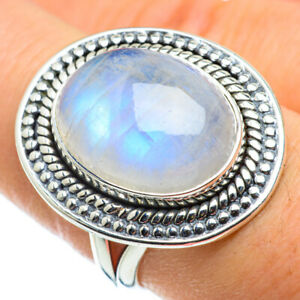 Rainbow-Moonstone-925-Sterling-Silver-Ring-Size-8-Ana-Co-Jewelry-R43729F