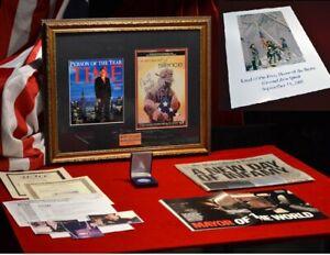 Firmado-Rudy-Giuliani-9-11-Autografo-Comic-Plata-Dolar-Revista-Papel-Uacc