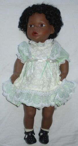 """AMANDA"" 16"" Limited Edition Porcelain Doll by TARKOS DOLL CO., #31 of 250"