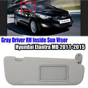 Image is loading 852203X000TX-Sun-Visor-Insider-Passenger-Right-Gray-HYUNDAI - d871ce31d99