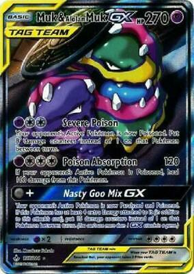 1X Muk /& Alolan MUk GX 197//214 Unbroken Bonds Pokemon TCG Online Digital Card
