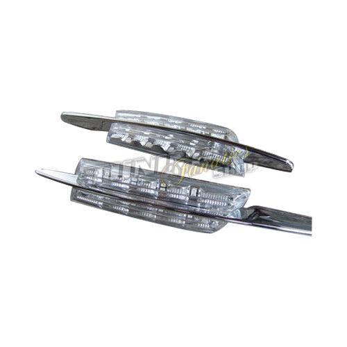 LED Seitenblinker Blinker WEISS E4 für BMW 3er E46 Limo Touring 01-2005