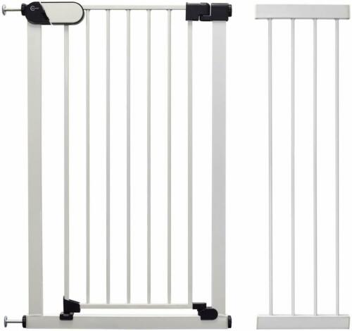 28 cm Ext. Incl. Callowesse® Saluki Wide Stair Gate or Pet Gate 65-100 cm
