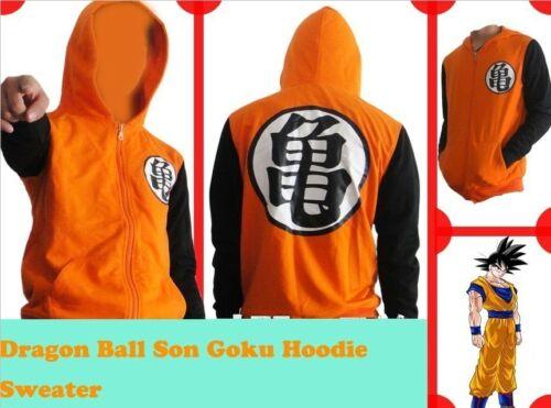 Anime Dragonball Z Son Goku Clothing Hooded Sweatshirt Cosplay Hoodie D