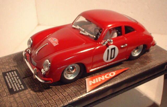RARE Vintage Ninco 50177 Porsche 356 a #10 1953 Ralley Monte Carlo 1 32  Slot Car