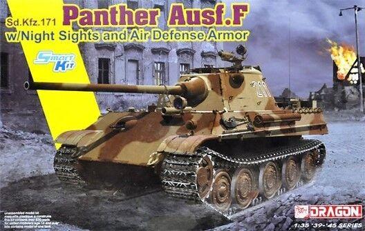 Panther F Night Sight & Air Defense Armor Kit DRAGON 1 35 DR6917