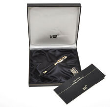 Montblanc 1442 Sterling Silver Solitaire Doue fountain pen new in box