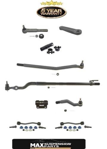 1999 F250 F350 Super Duty 4x4 AWD Pitman Arm /& Tie Rods 9pc Kit