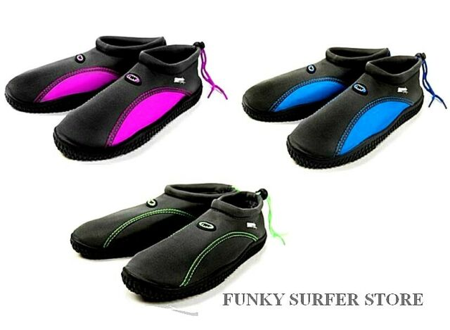 TWF ADULT CHILDRENS KIDS BOYS GIRLS AQUA SWIM BEACH POOL WATER SURF SHOES BOOTS