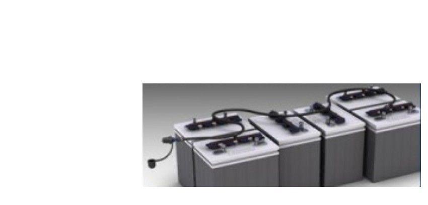 Sistema de riego Batería Flo-Rite BG-U36V-7A para seis pilas de 6V 36V con HP