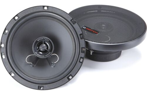 """Match Helix MS6X 6.5/"""" German Quality Coaxial Speakers New"""
