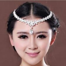 Chic Crystal Frontlet Forehead Head Chain Wedding Bridal Jewelry