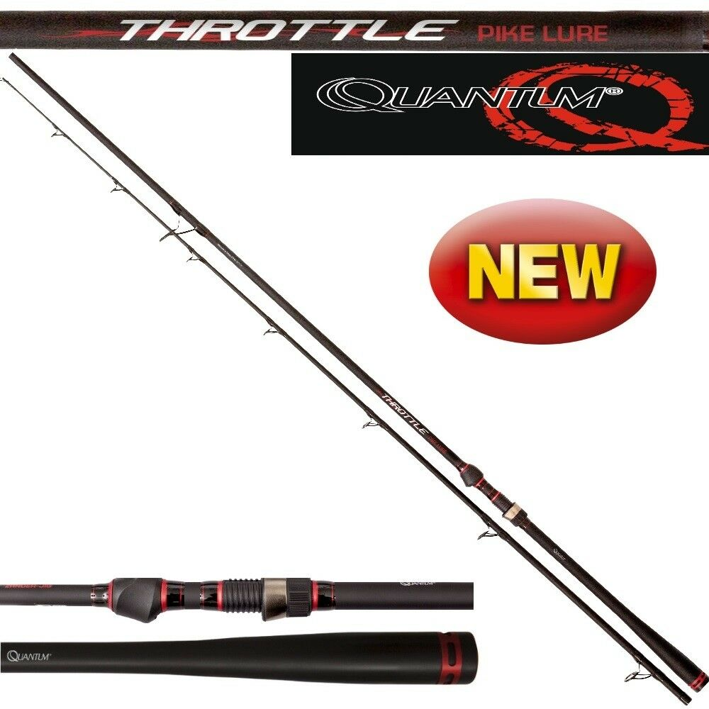 Quantum Throttle Pike Lure 25g-100g / 2,40m-2,70m Hechtspinnrute Große für Große Hechtspinnrute Köder 34fcce