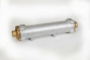 "Marine Heat Exchanger 18 3//4"" long by 3 1//2"" diameter"