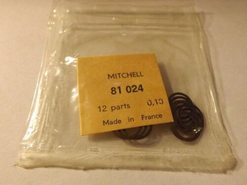 1 PKG OF 12 Mitchell 300 301 FISHING REEL SHIMS HEAD TO HOUSING NOS 81024 .010