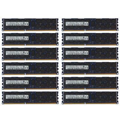 8x 16GB 128GB 10600R RAM MEMORY MODULE FOR HP BL680C DL165 DL385 G7