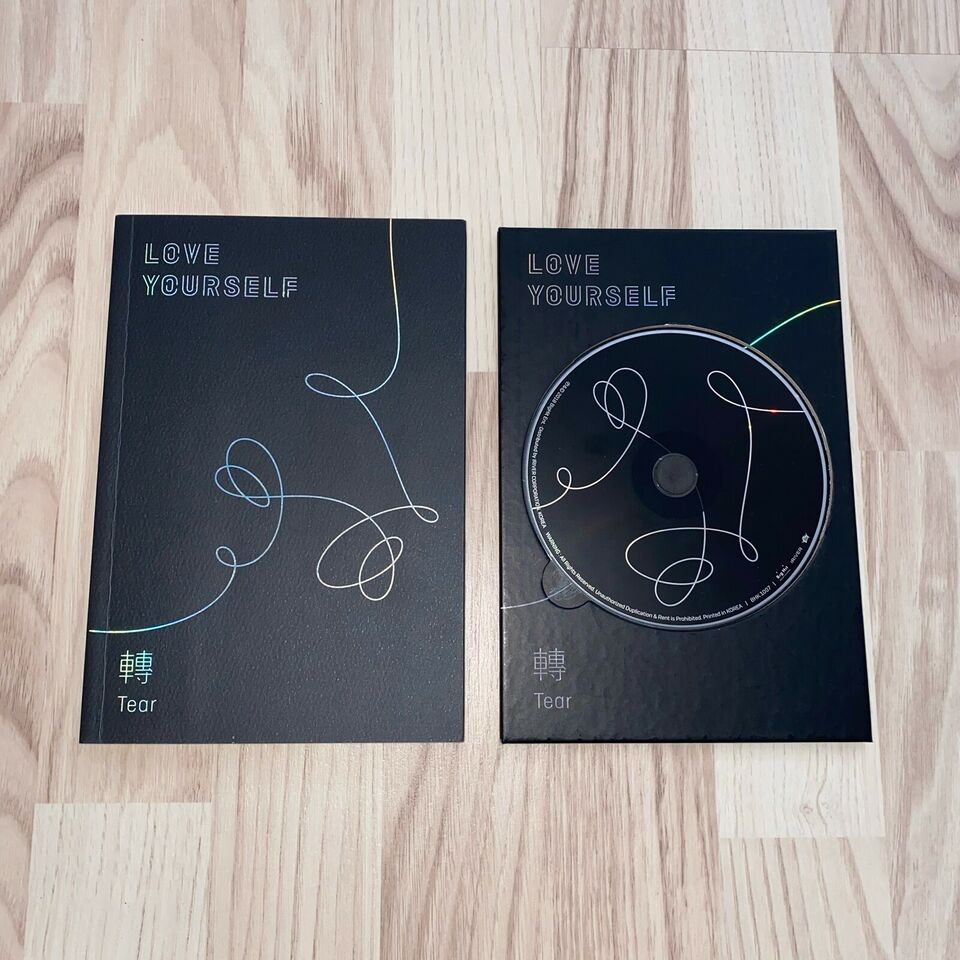 BTS: Love Yourself: Tear, pop