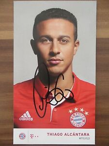Handsignierte-AK-Autogrammkarte-THIAGO-ALCANTARA-Bayern-Muenchen-16-17-2016-2017