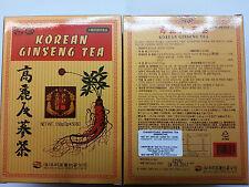 2 boxes korean ginseng tea 50 tea bags/per box total:100 tea bags  @uk seller@