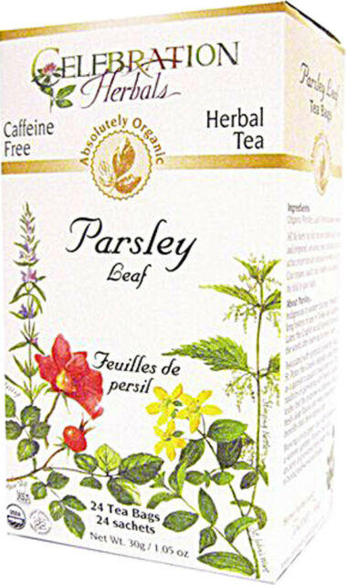 Parsley Leaf Tea by Celebration Herbals, 24 tea bag