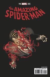 AMAZING SPIDER-MAN #795 2ND PRINT VARIANT HAWTHORNE PT 2 MARVEL LEGACY 030718