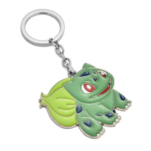 7 style Pokemon go silicone keyring keychains charms children gift toys