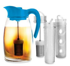 Primula Shake & Infuse Pitcher Spill Proof Fruit Tea Infuser Brew Chill Beverage