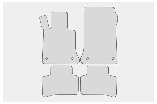 Premium tapices para Mercedes GLK x204 año 2008-2015