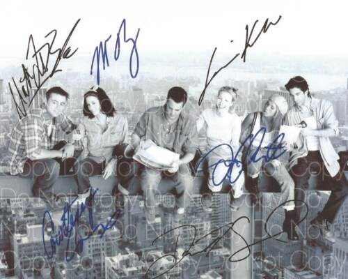 Friends signed all cast 8X10 photo picture poster autograph RP 2