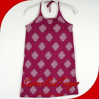 NWT HANNA ANDERSSON HALTER SUNDRESS PICKING VIOLETS ALLOVER PRINT 140 10