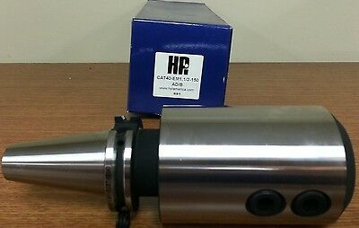 "HPI Pioneer CAT40 1-1//2/"" End Mill Holder 5.91/"" Coolant Thru DIN AD//B NEW"