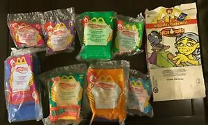 2000-McDonald-039-s-Happy-Meal-Toys-FINGER-BOARDS-Complete-Set-Of-8-MIP