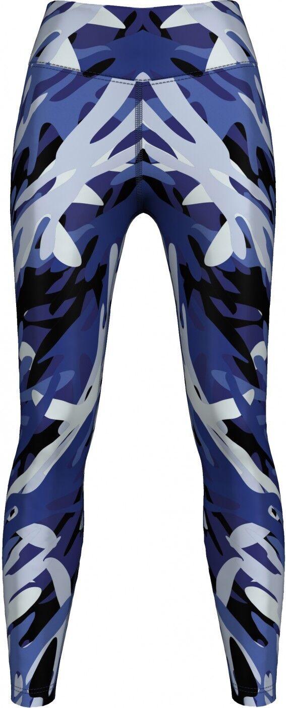 31ba334eeb01c German Wear,Leggings dehnbar Sport,Gymnastik,Training,Tanzen,Freizeit bluee  Camo
