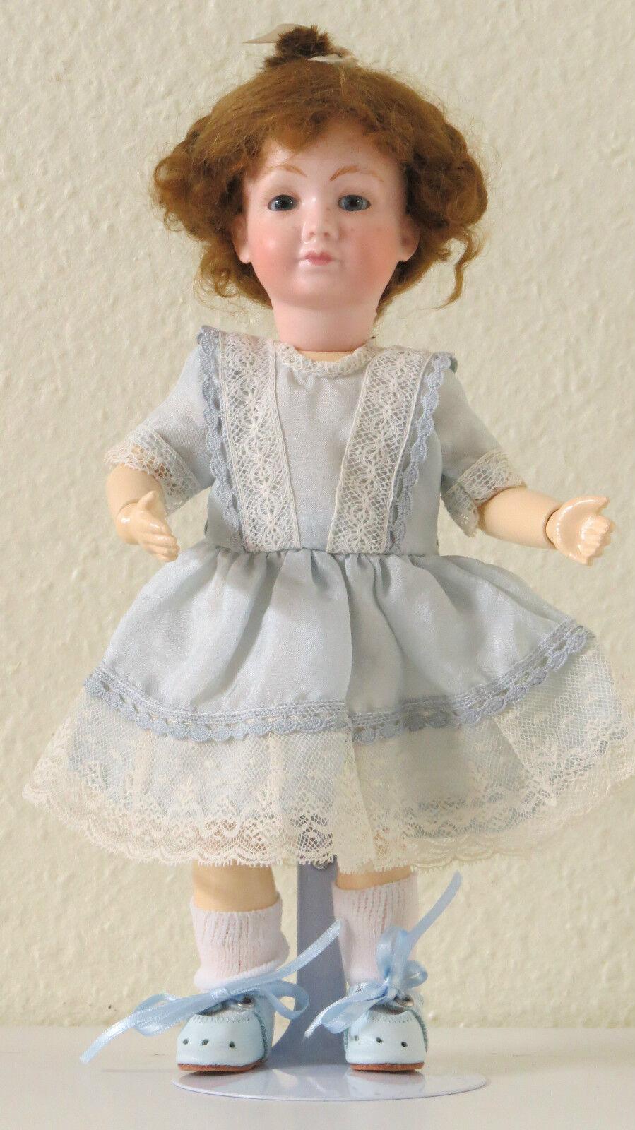 Mini NANE ( Ref  3 ) 24 cm 9,6 Pulgadas Muñeca Porcelana creación Doll