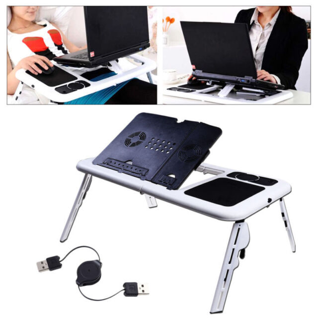 Attirant Adjustable Portable Folding Table Bed Desk Stand For Computer Laptop  Notebook PC
