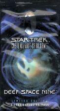 Star Trek CCG -  Deep Space Nine DS9 Booster Pack x 10  1/3 Box