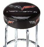 New Chevrolet C6 Corvette Bar Stool w// Swivel Seat