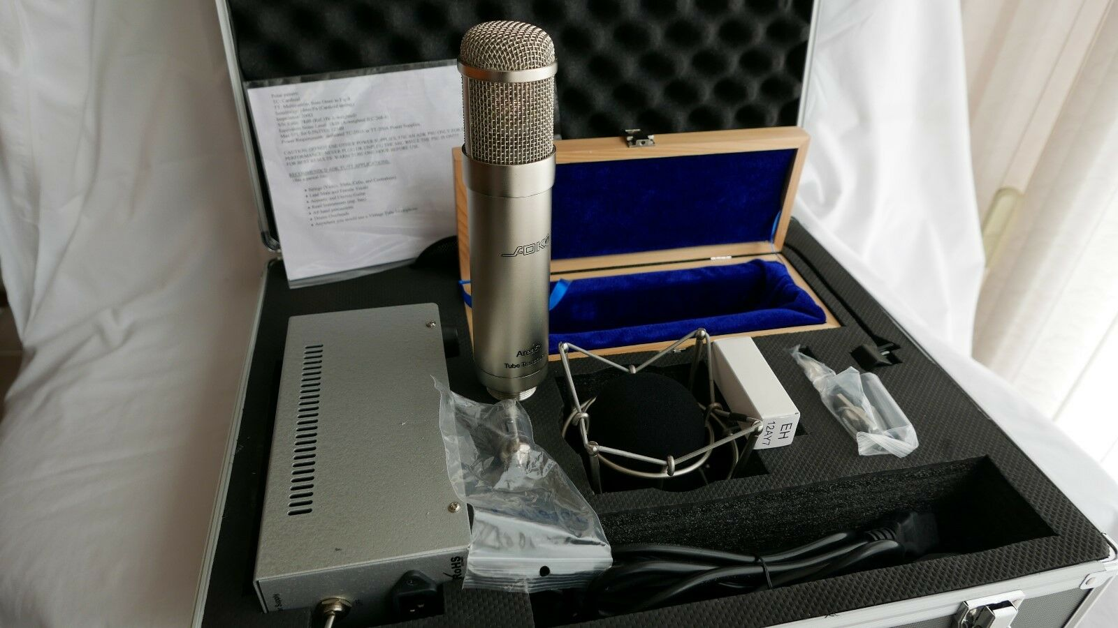 ADK TT-49 neun Muster Multi-Muster Tube Mikrofonsystem