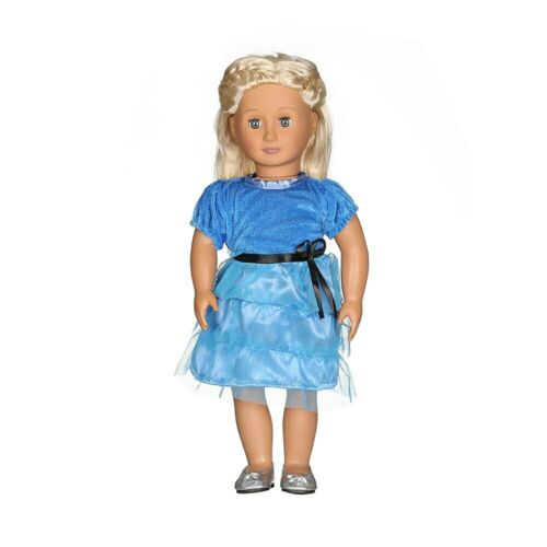 Doll Baby Dress Doll Clothes Handmade Western Dress For 18 Inch American Doll /&