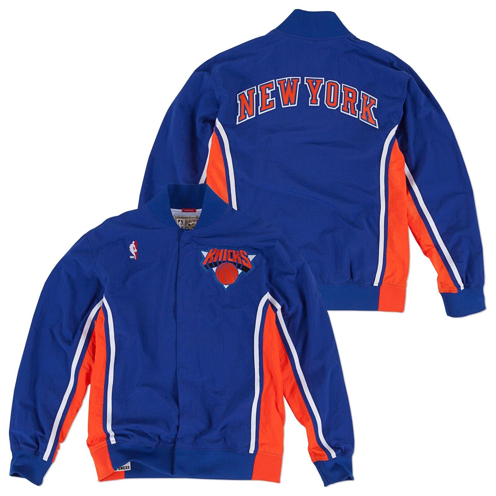NBA New York Knicks Hardwood Classics 92-93 Basketball Training Jacke Herren
