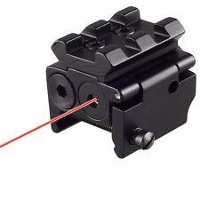 Mini Low Profile Red Dot Laser Sight for Pistols w/ Rail Mount